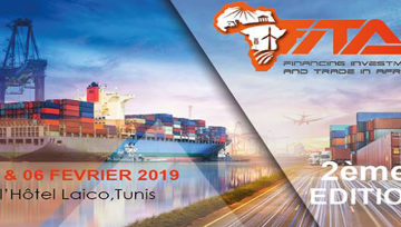 Du 05 au 06 février 2019 : Participation du CNP  au Financing Investment and Trade in Africa 2019